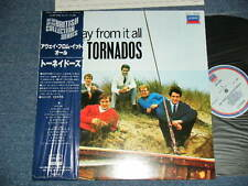 TORNADOS JOE MEEK Japan 1982 NM LP+Obi AWAY FROM IT ALL
