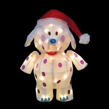 Yard Outdoor Christmas Lighted 3D rudolph elephant misfit toys spotted elephant