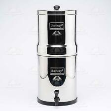 Big Berkey Water Filter +2 Black Purifier elements Filtration System ~UK Based~