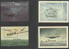 Postage stamps commemorating the 50th anniversary of world war II