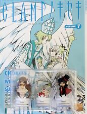 """Clamp no Kiseki"" Chobits Vol. 7 w/ Figures, Anime English Tokyopop  VERY RARE!"