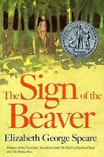 The Sign of the Beaver by Elizabeth George Speare (1983, Hardcover, Teacher's...