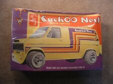 Cuckoo Nest Custom Ford Van ~ Vintage AMT Model Kit #T420 ~ 1/25 Scale