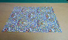 William Morris  Flowerpot design Fabric Birmingham Museum card unposted.Bx