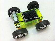 Mini car pannello solare Giocattolo in kit fotovoltaico