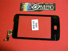Kit VETRO+TOUCH SCREEN per LG E510 OPTIMUS HUB NERO ORIGINALE NUOVO DISPLAY LCD