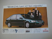 advertising Pubblicità 1995 HONDA CIVIC 5 PORTE