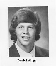 DANNY AINGE High School Yearbook SENIOR Year High School ATHLETE of the CENTURY