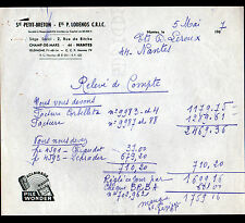 """NANTES (44) CYCLES / VELOS """"PETIT-BRETON / P. LODENOS C.R.I.C."""" Publicité WONDER"""