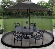 Mosquito Net Canopy Patio Table Umbrella Outdoor Yard  Garden Deck Gazebo Porch