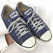 Vintage USA-MADE Converse All Star Chuck Taylor shoes size 9.5 blue