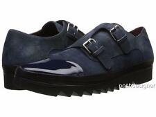Vivienne Westwood Navy Monk Shoes UK7 EU41 US8, RRP425GBP