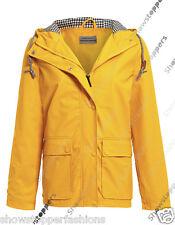 NEW WATERPROOF Festival Mac Ladies PVC Raincoat Women Jacket Size 10 12 14 16 18