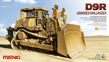 Meng 1:35 Caterpillar D9R Armored Bulldozer Plastic Model Kit #SS002