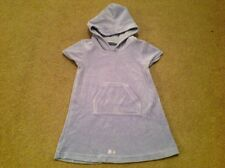 Next Baby Girls Hooded Velour Dress - Age 12-18 Months