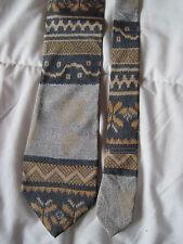 AUTHENTIQUE  cravate cravatte GIORGIO ARMANI   100% soie  TBEG  vintage