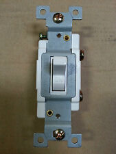 (1 pc) *NEW* Single Pole 20A Toggle Switch 20 Amp Switches White Commercial