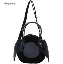 IRON FIST Ladies Goth/Bat/Vampire Black  Night Stalker HAND Bag