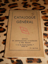 Catalogue général - Office de centralisation d'ouvrages à prix réduits