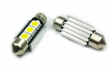 Festoon C5W 36mm 10x36 SV8,5 LED CANBUS NUMBER PLATE CAR BULB COOL WHITE C