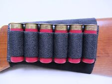 Shotgun Butt Stock Shell Holder. Holds 6 Shells Free Shipping