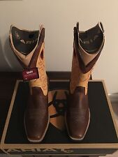 Men's ARIAT Rawhide western boot size 9EE WIDE