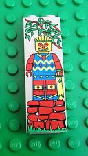 Lego 2454px6 Brick 1x2x5 with Mayan Minifig Pattern du 5936 5986 Aventure