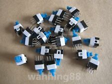 10 Pcs 7 x 7mm PCB Tact Tactile Push Button Switch Self Lock Latching 6 Pin DIP