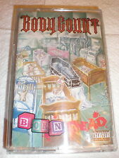 Body Count CASSETTE NEW Born Dead