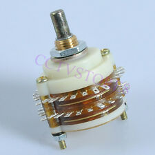 1*2pole 24steps Postition Rotary Switch 2P24T Guitar Tube Amp Amplifier Selector