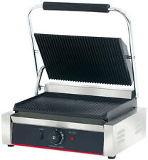 Hakka Commercial Professional Panini Press Grill and Sandwich Griddler TCG-811E