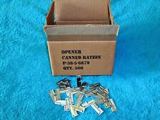 P38 Can Opener 20 Piece Stainless Steel Military Issue Made US Shelby Company
