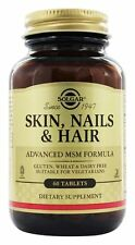 Solgar Skin, Nails and Hair Advanced MSM Formula 60 vegetarian tabs