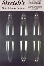3-D Bottles Chocolate Candy Mold