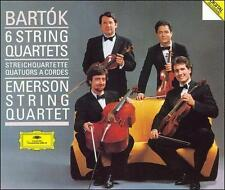Bela Bartok: The 6 String Quartets - Emerson String Quartet, , Good