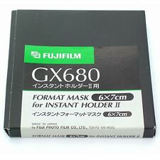 Fuji GX680 III Polaroid Back Mask 6x7cm, BNIB (for Instant Holder II)