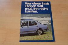 70730) Saab 900 - Leasing - Prospekt 198?