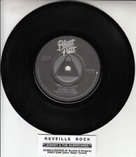 """JOHNNY AND THE HURRICANES  Reveille Rock EP 7"""" 45 record + juke box title strip"""