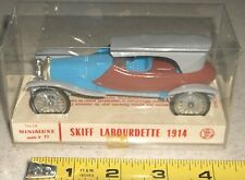 VINTAGE TACOT MINIALUXE FRANCE N. 19  SKIFF LABOURDETTE 1914 IN DISPLAY BOX