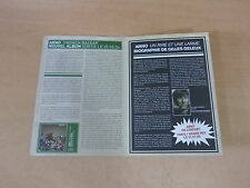 ARNO - FRENCH BAZAAR - 4 PAGES!!!!!!!!!!RARE BIOGRAPHIE PROMO