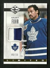 2012-13 Limited GRANT FUHR Limited Materials PRIME Jersey Serial #5/25