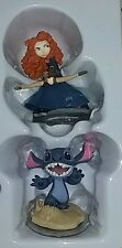 DISNEY INFINITY 2.0 Originals Brave Merida & Stitch Character Figures W Card New