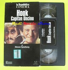 film VHS HOOK CAPITAN UNCINO 1991 spielberg williams LA REPUBBLICA (F39*) no dvd