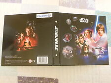 ALBUM CROMOS E.LECLERC STAR WARS COMPLETE 54 CARDS SPAIN SPANISH COSMIC SHELL