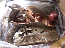 Wood plane lot Stanley 191 and Capewell for parts and restoration vintage