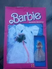 1986 BARBIE DOLL ROMANTIC WEDDING DRESS NRFB Collector Edition 5 and UP