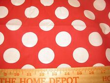 """Polka Dot Fabric BTY by yard 36x44 UPICK color cotton quilting Bigger 1 1/2"""" sew"""
