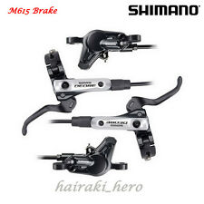 Shimano Deore BL BR M615 Hydraulic Disc Brake Lever Set (Left & Right)