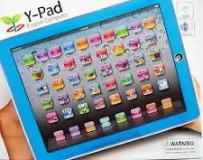 Y-pad Ypad Learning Toy English Educational Computer Tablet  Kid Children Blue