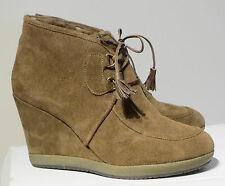 Bruno Premi ladies' suede and natural wool boots UK 6, New